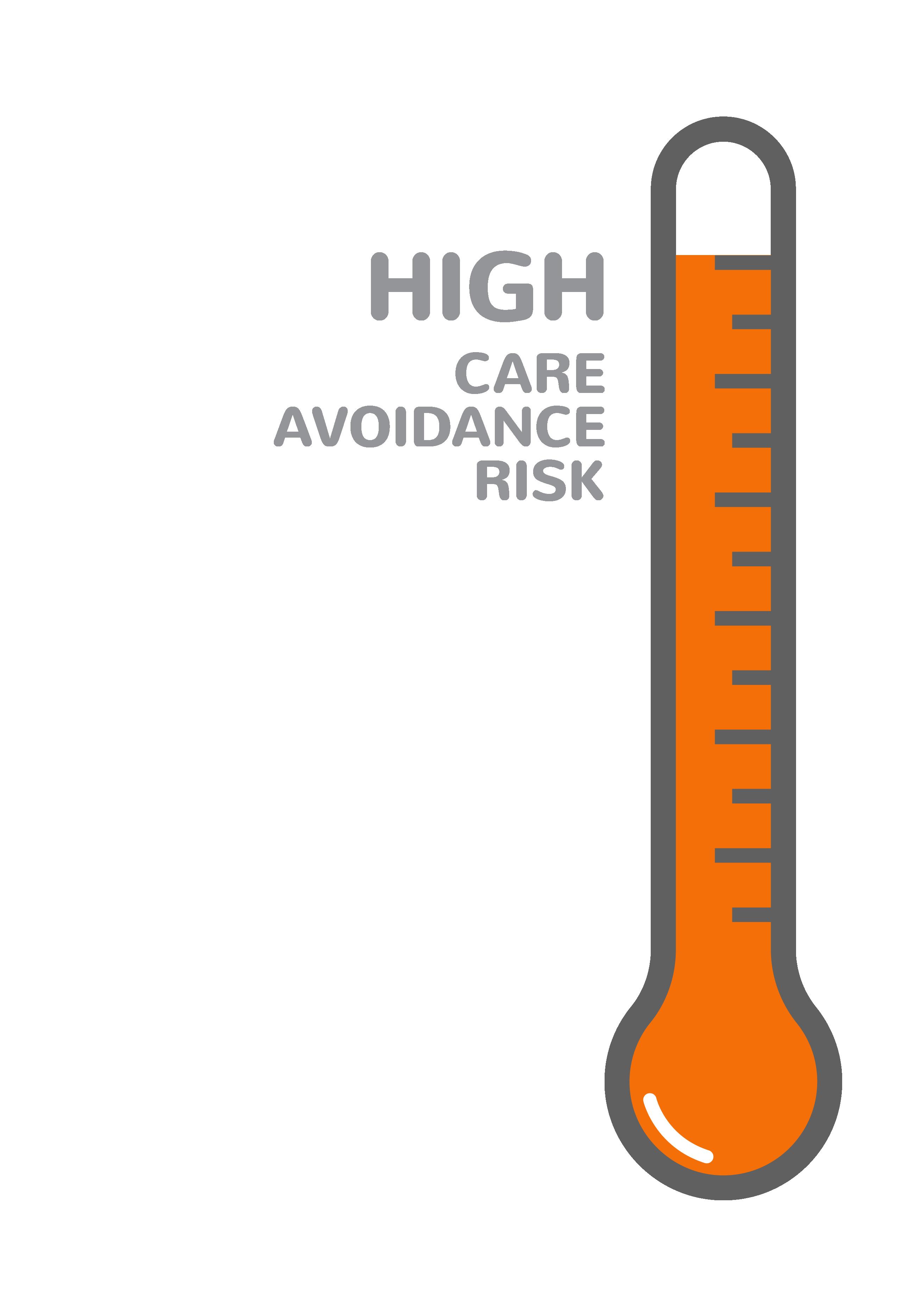 Care Avoidance Risk: High